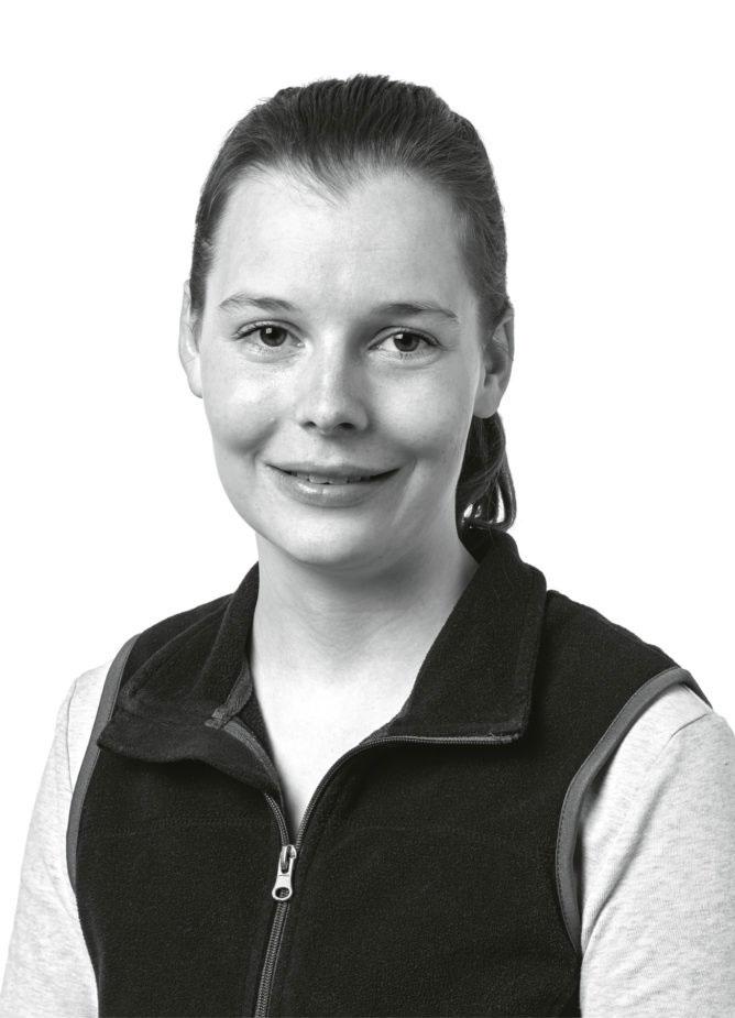 Christina Widmer, Tierärztin